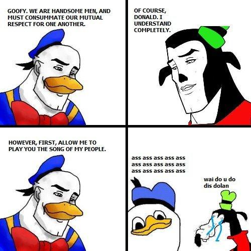 1f0 gooby and dolan handsome face know your meme