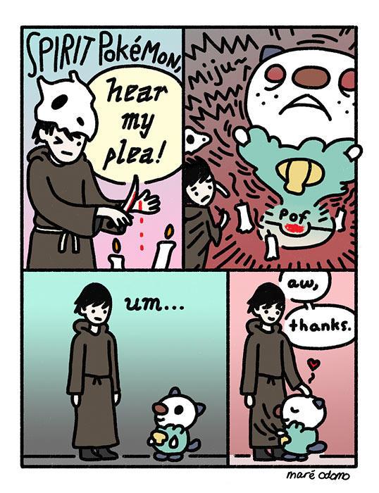 f33 spirit pokemon sacrifice spirit pok�mon know your meme,Pokemon Know Your Meme