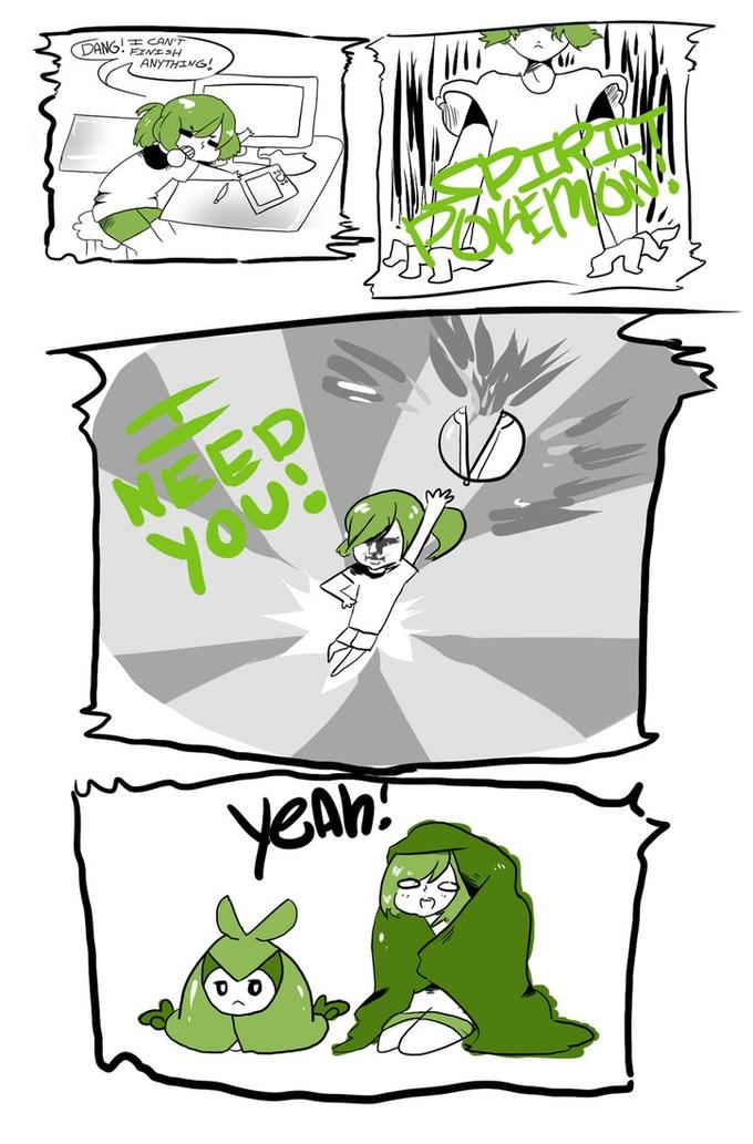 Unhelpful Spirit Pokemon
