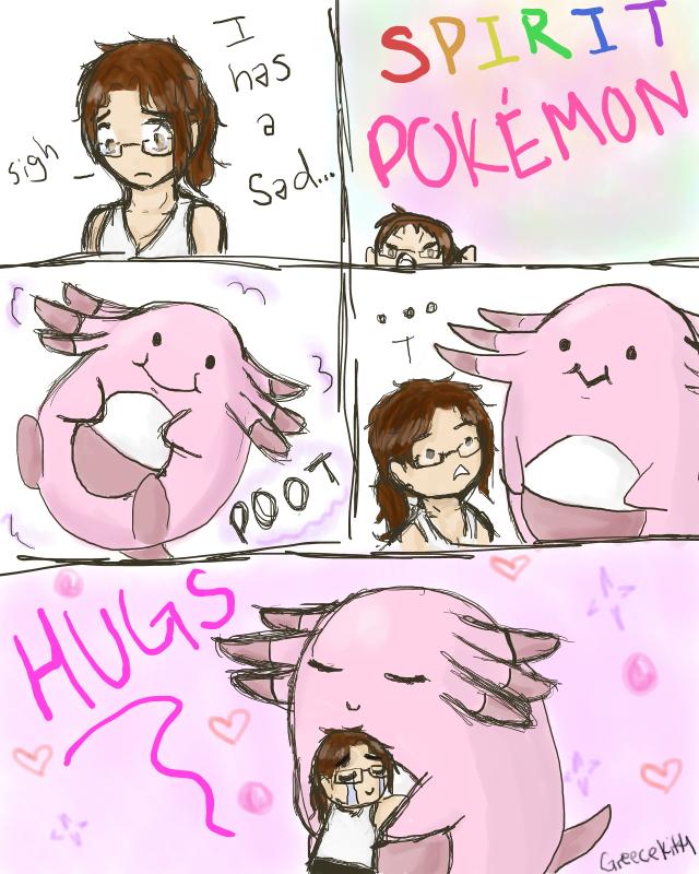 Sad Spirit Pokemon