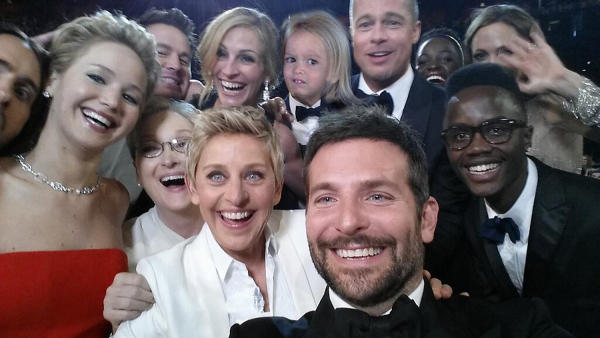 Chloe made it to the Oscars!