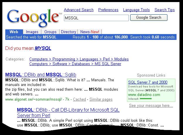 MSSQL vs MYSQL
