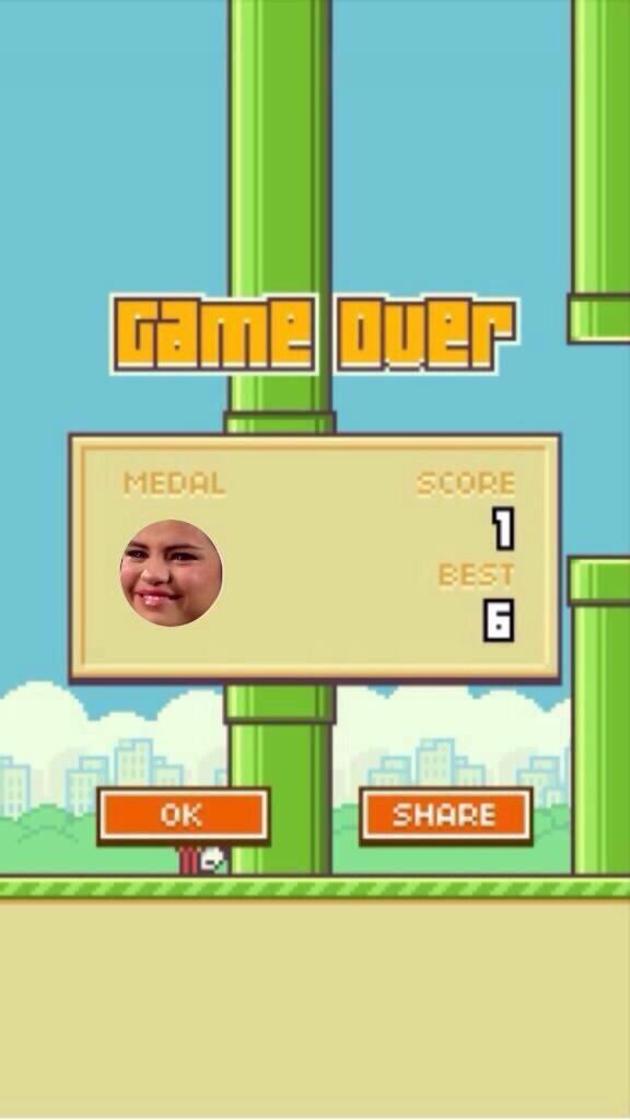 Selena Gomez Flappy Bird