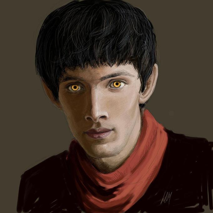 Merlin Painting