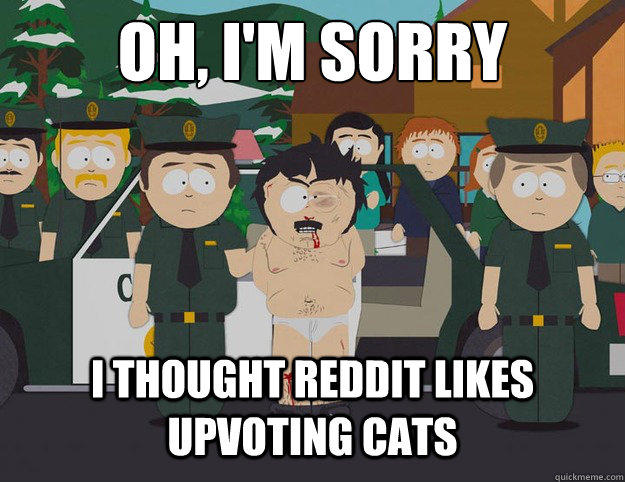 Reddit Uploading Cats