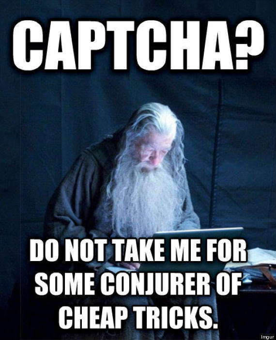 CAPTCHA Gandalf