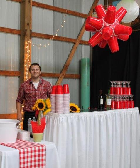 Red Solo Cup Decoration