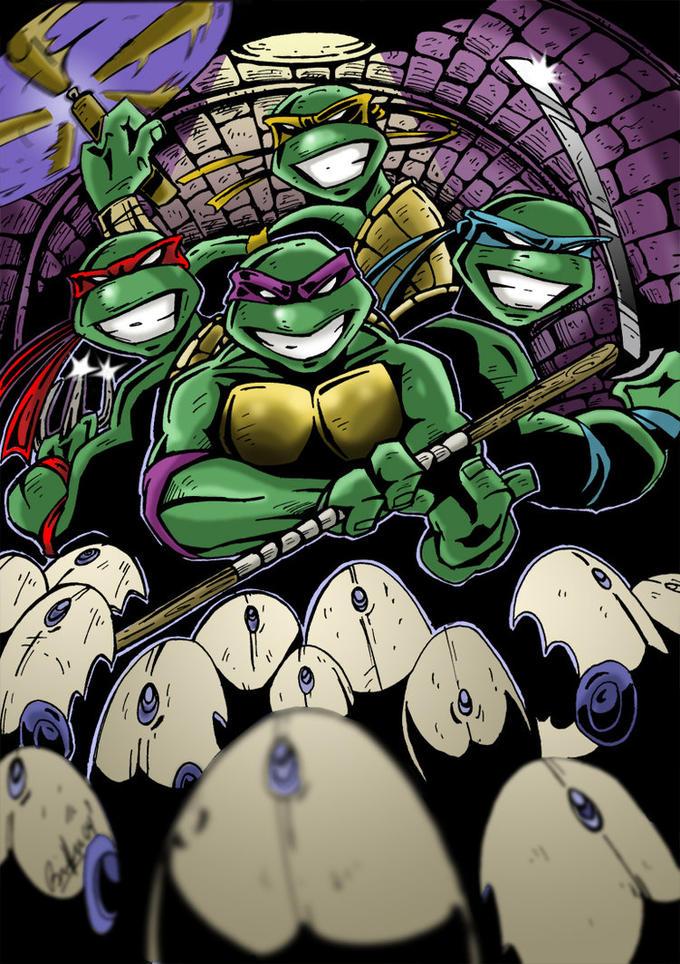 Teenage mutant ninja turtle porn