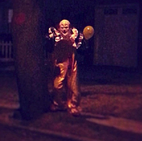 Creepy Staten Island Clown