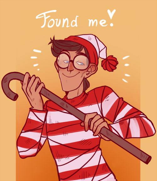 Found Where's Waldo