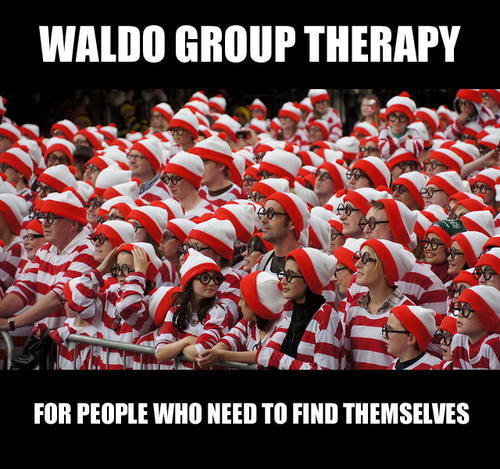Where's Waldo Therapy