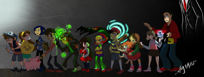Kids on a Supernatural Adventure! :)