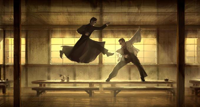 The Matrix Jump