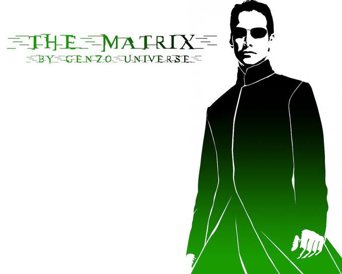 The Matrix in Green