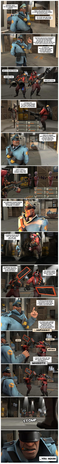 Strict Soldier's guide for MvM: Pyro