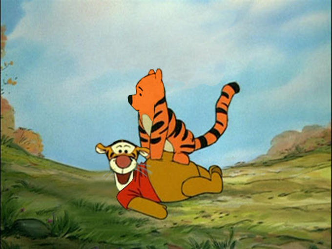 Winnie The Tigger and Pooh Too