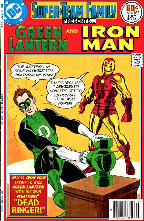 f8c iron man vs the green lantern crossover know your meme