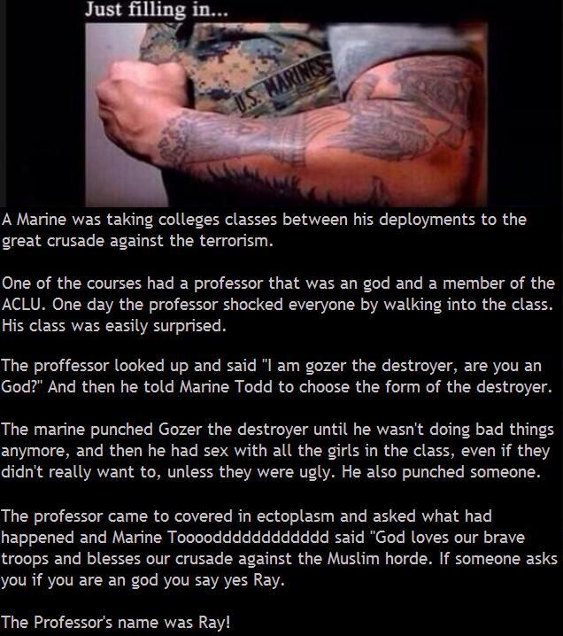 Marine Todd An God