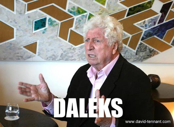 4th Doctor - Daleks