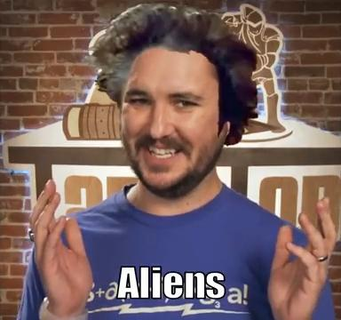 Wil Wheaton says Aliens