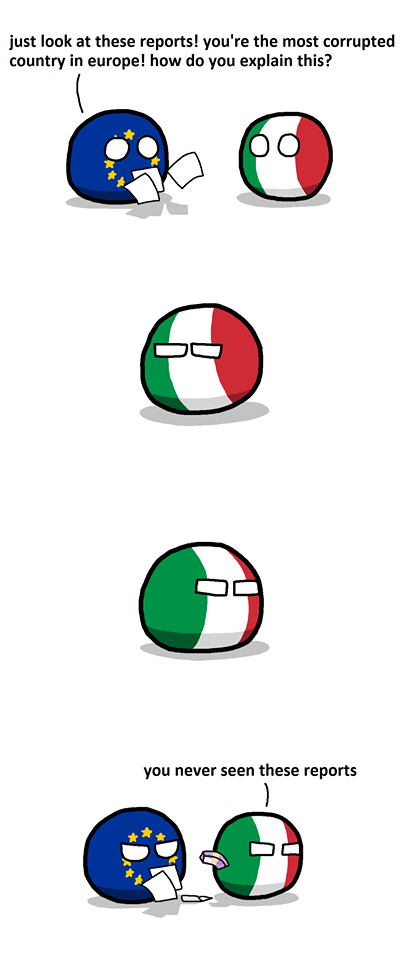 Corrupted Italy