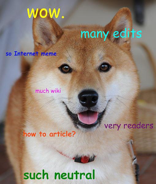 Wikipedia Doge