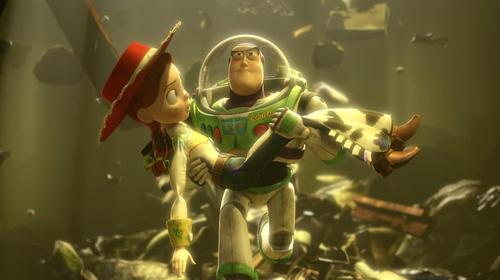 Toy Story Buzz and Jesse