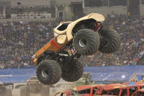 Donkey Kong: The Monster Truck.