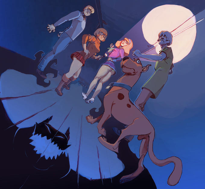 Scooby-Doo Full Moon