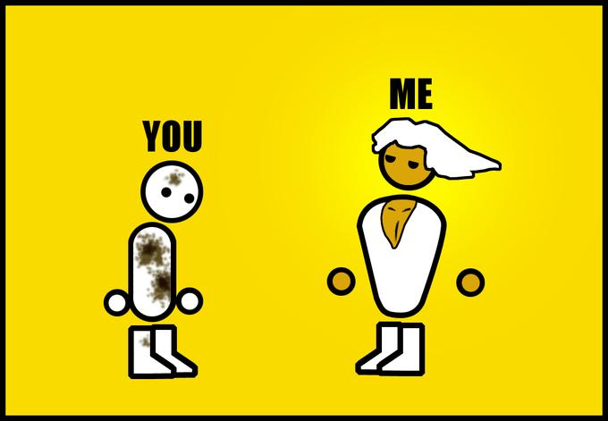 You Vs. Me!