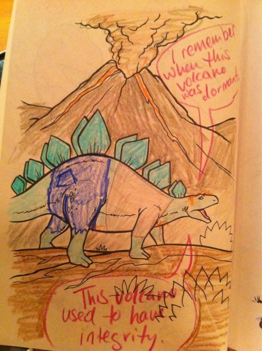 Pretentious Dinosaur