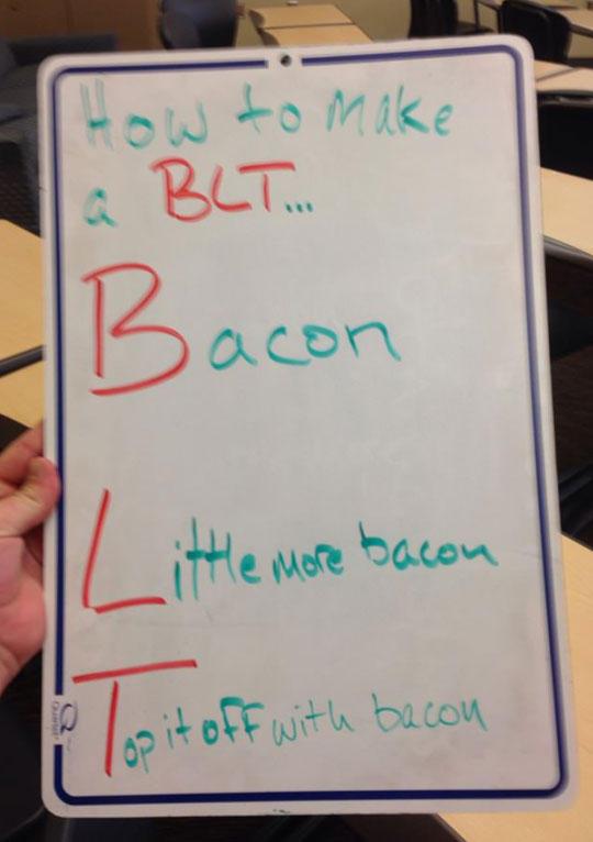 How To Make a BLT