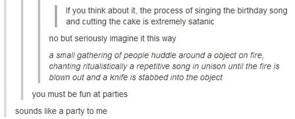 Happy birthday Satan Tumblr Know Your Meme