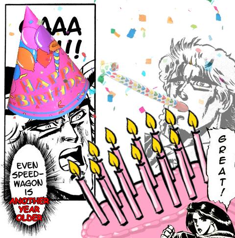 ¡Feliz cumpleaños gordo cornudo! D-digo rhine! :siii:  347