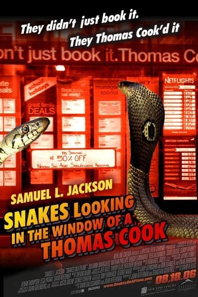 Snakes Not Yet on a Plane