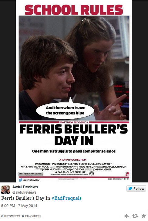 Ferris Bueller's Day In