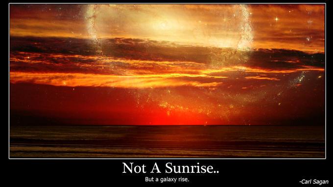 A still more glorious dawn awaits...