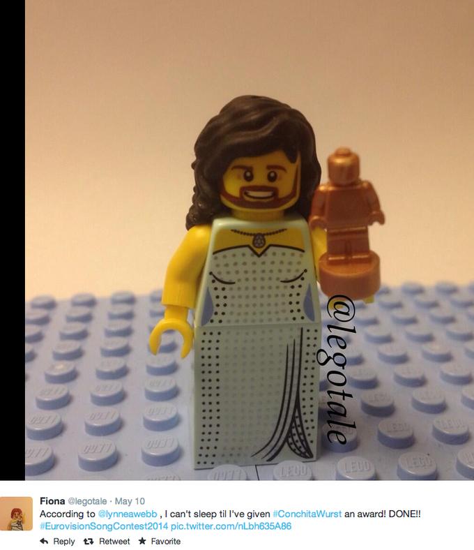 LEGO Conchita