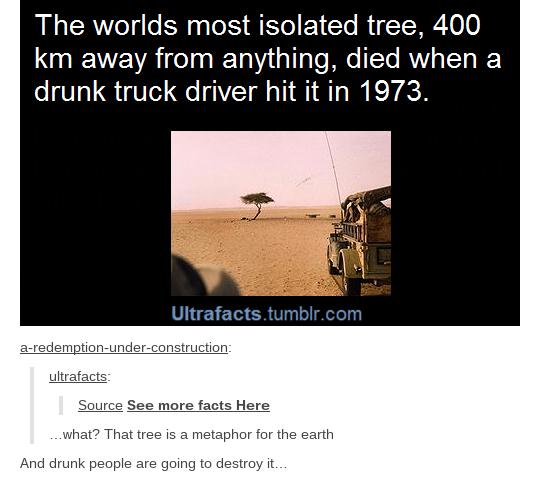 Drunk people will doom us all.