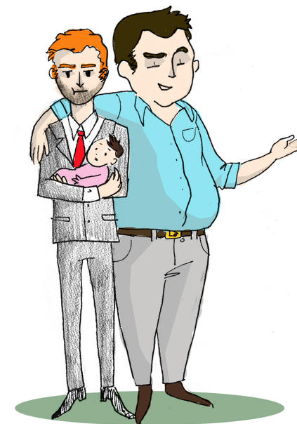 Cam and Mitchell Cartoon