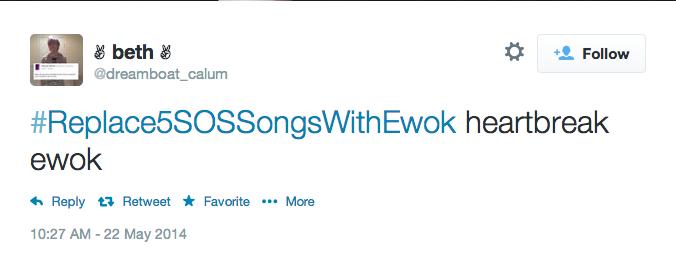 Heartbreak Ewok