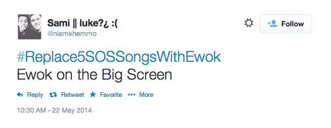 Ewok on the Big Screen