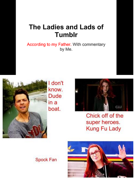 Lads and Ladies of Tumblr