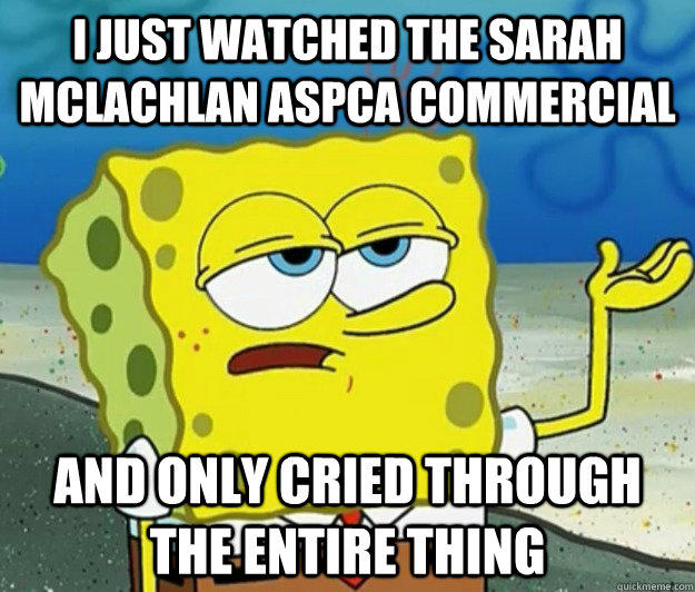 Spongebob ASPCA commercial