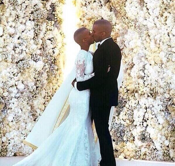 How Kanye West Pictured His Wedding