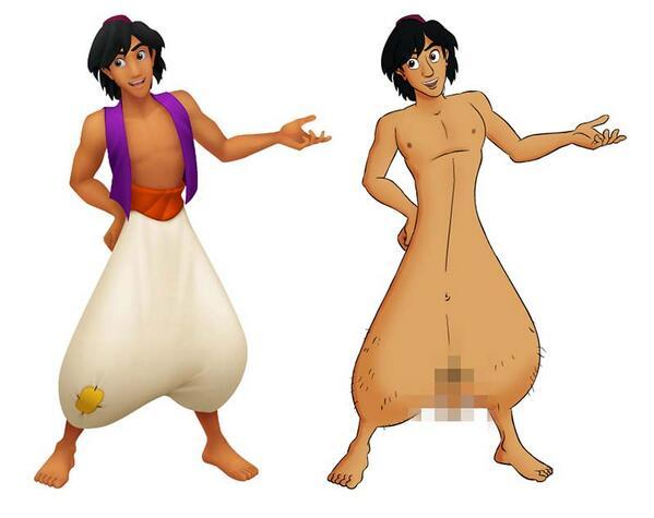 What Aladdin's been hiding?