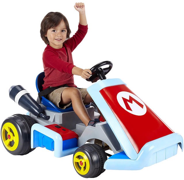 Life Size Mario Kart for kids. Goes 2.5 MPH