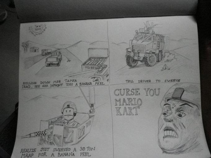 Mario Kart: Iraq