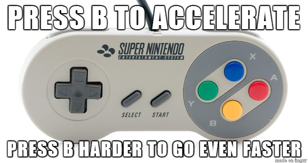 SNES Mario Kart Logic