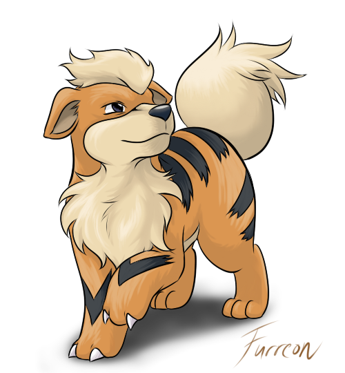 Pokemon -GrowlitheGrowlithe
